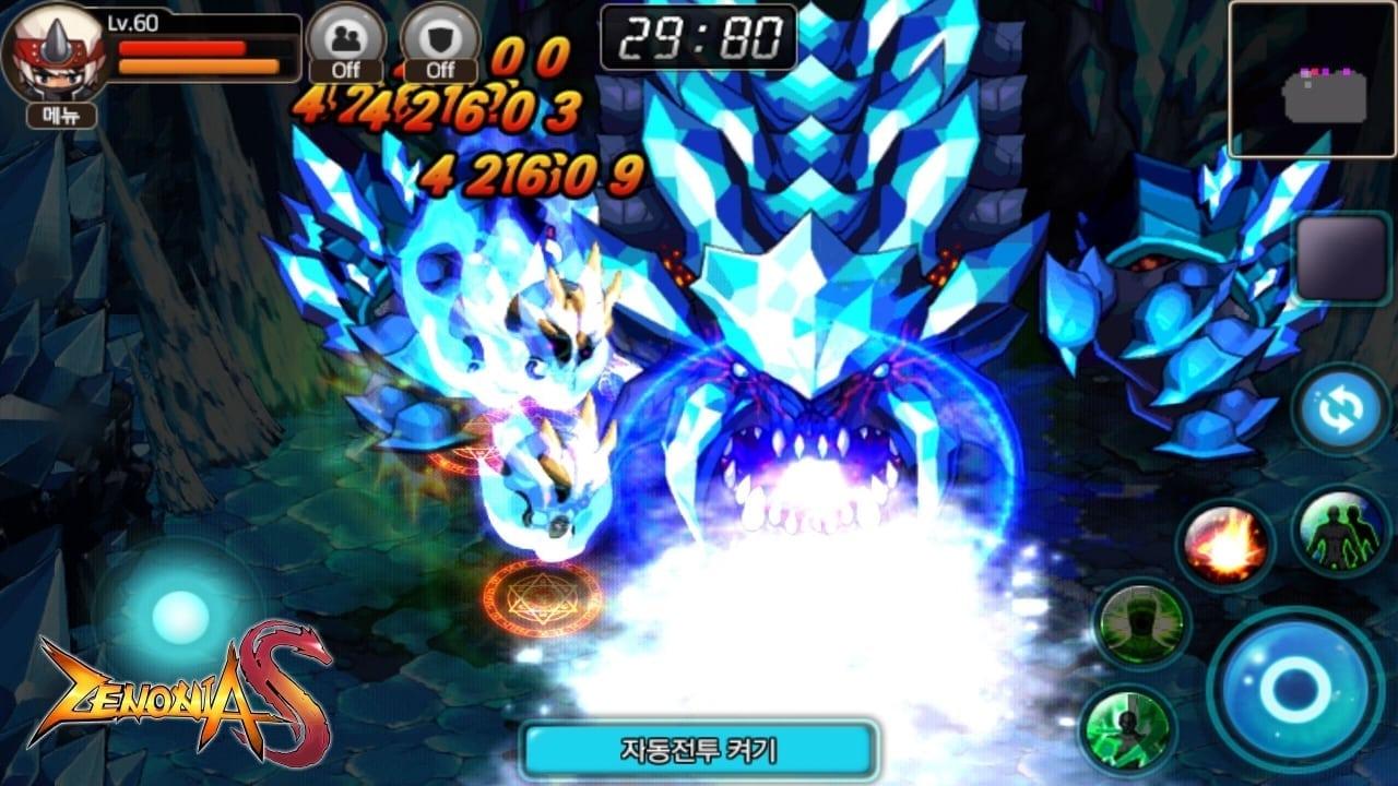 Zenonia S screenshot