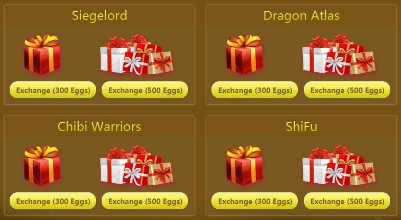 37Games Easter event item exchange