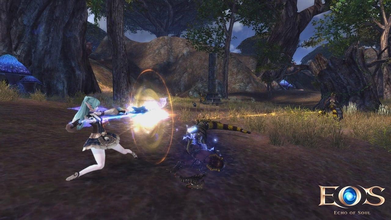 Echo of Soul - Archer combat
