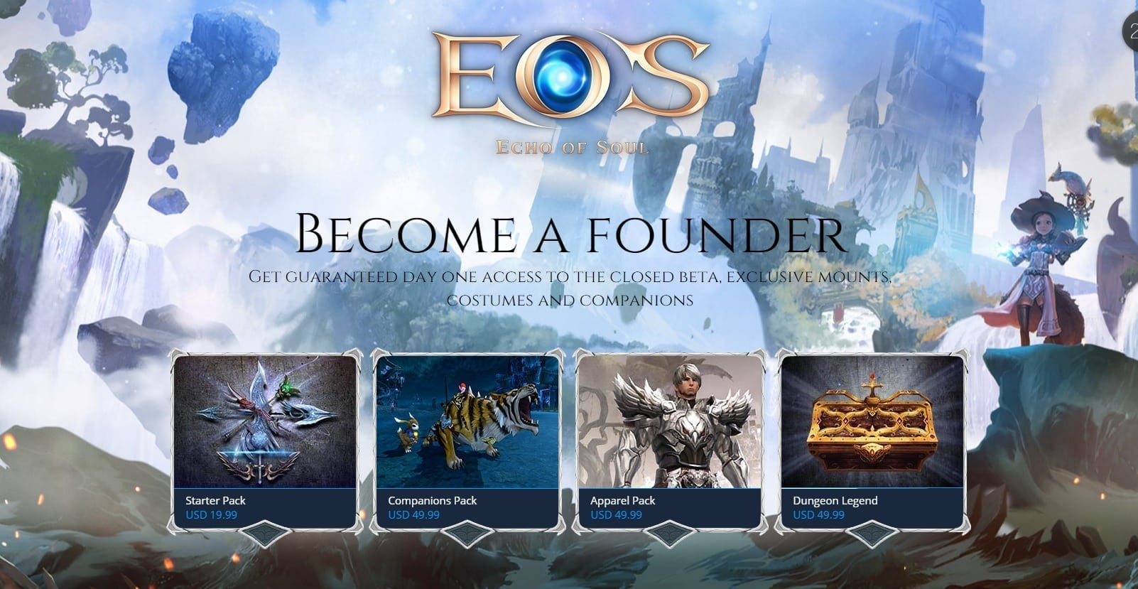 Echo of Soul - Founder's Pack