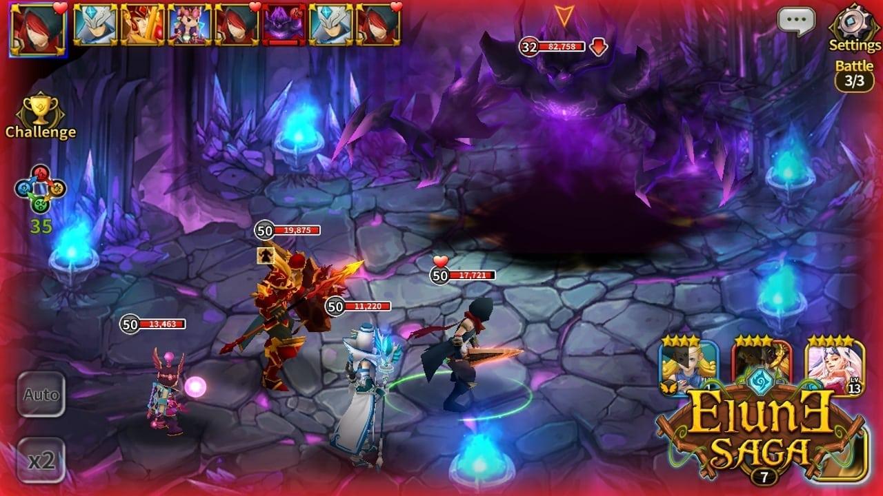 Elune Saga screenshot 2