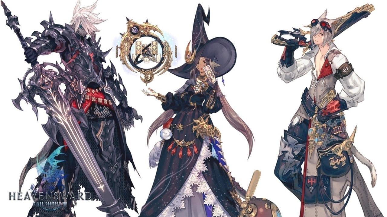 FInal Fantasy XIV Heavensward - New classes