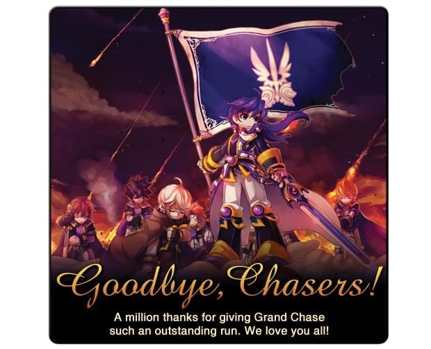 Grand Chase - North America server closure