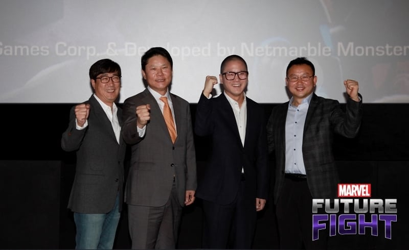 Marvel Future Fight press conference photo