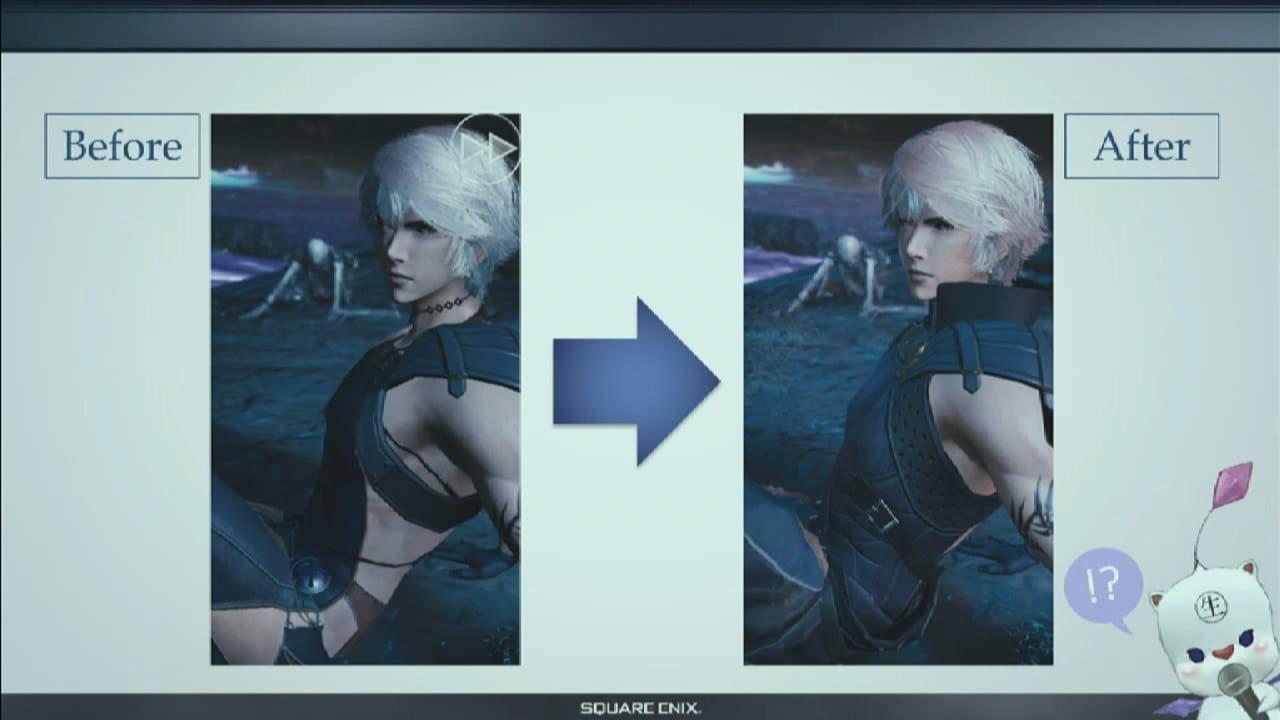 Mobius Final Fantasy - Clothing change