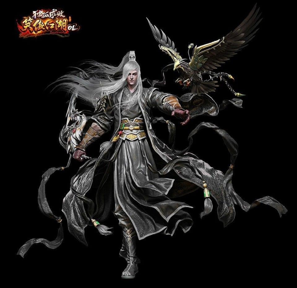 Swordsman Online China - Hermit class artwork