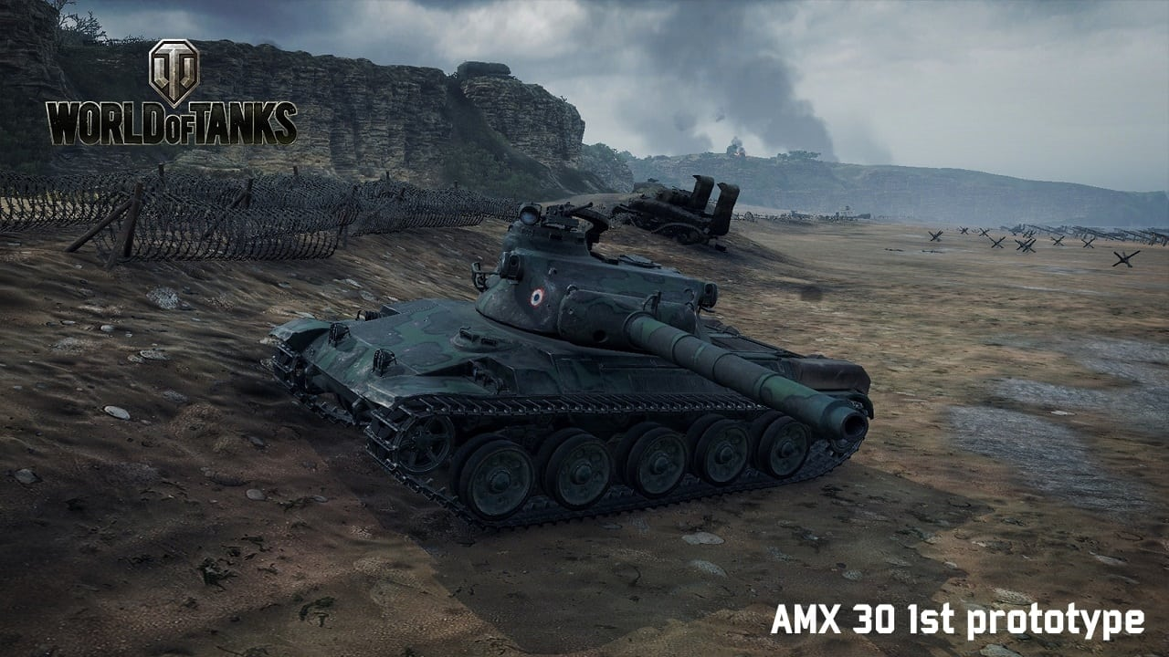 World of Tanks - AMX 30 1st prototype
