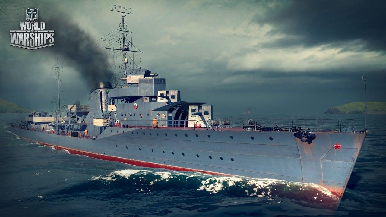 World of Warship - Gremyashchcy