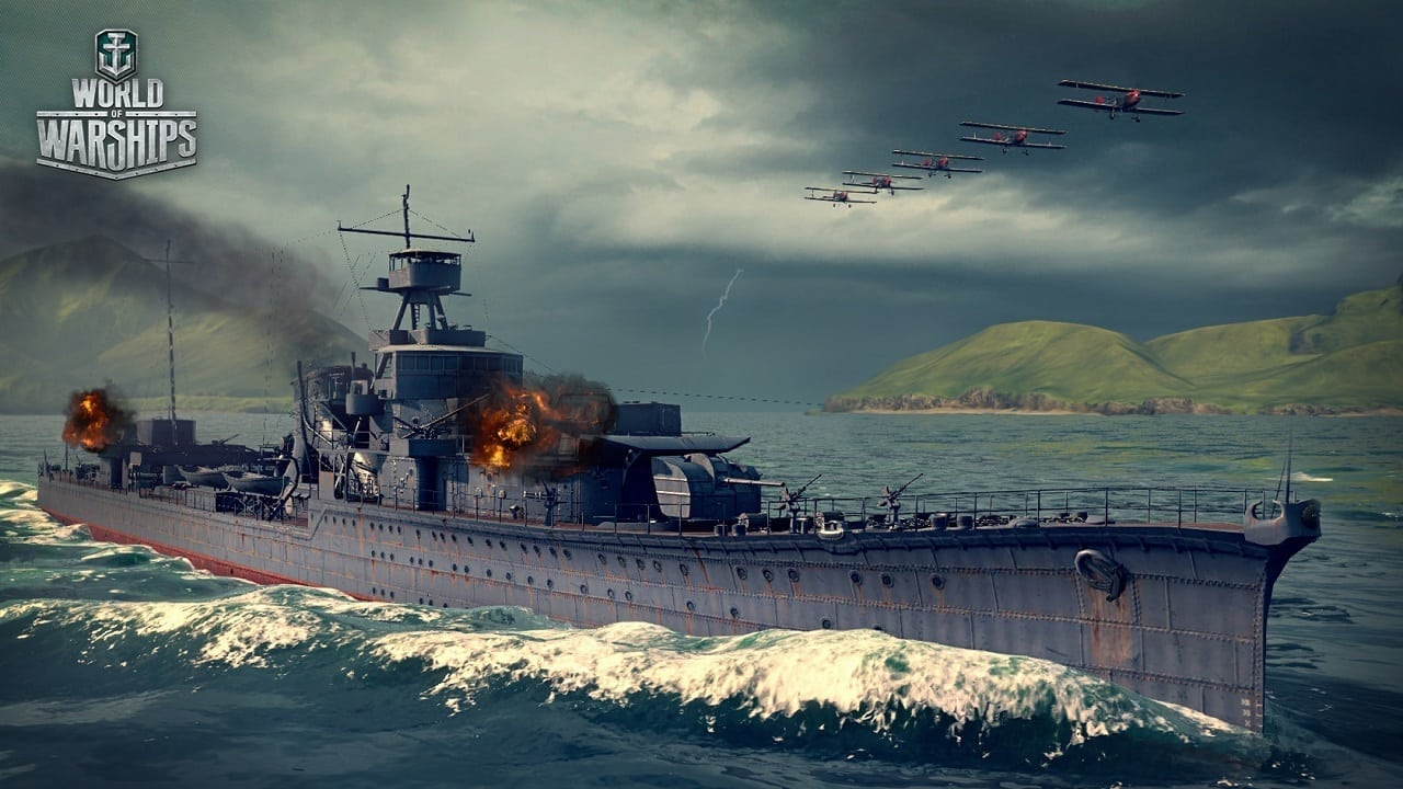 World of Warship - Yubari