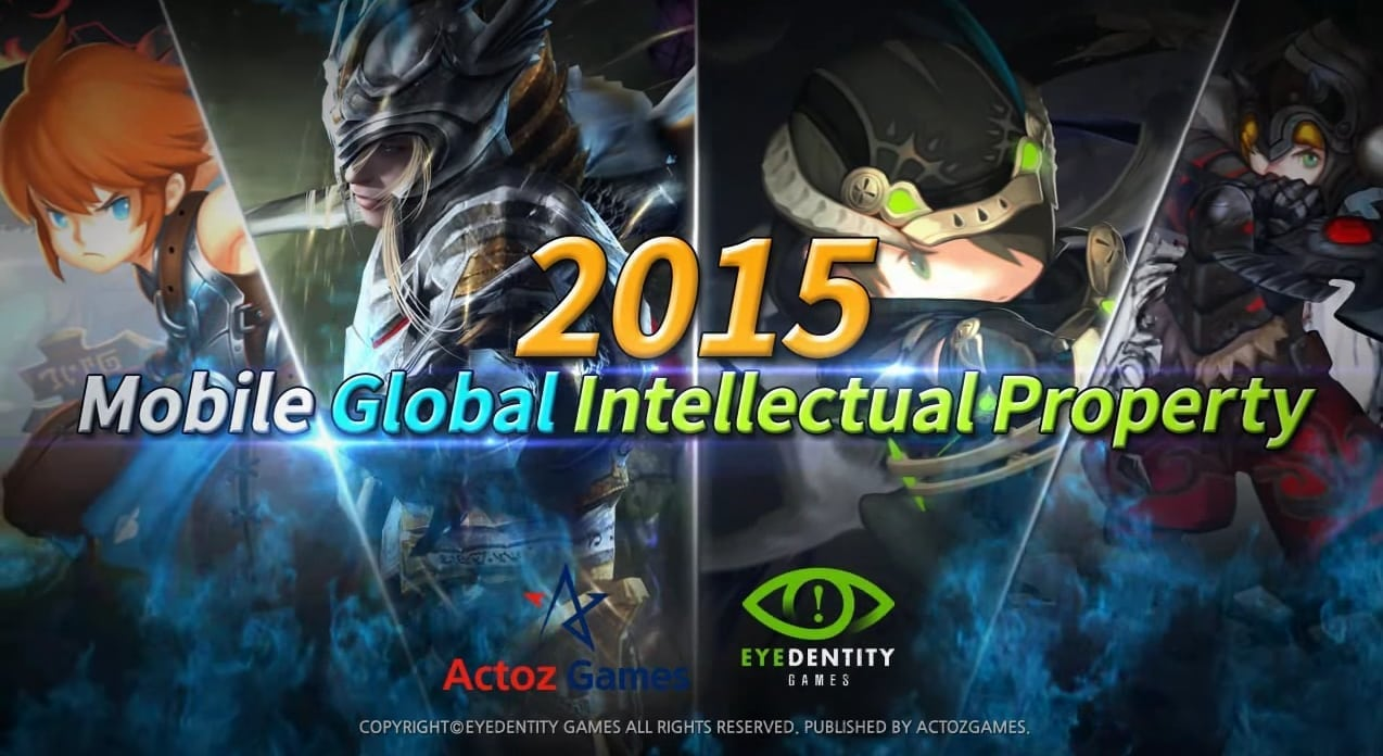 Actoz Games 2015 Global Mobile IP
