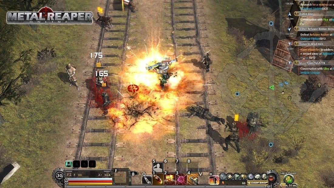 Metal Reaper Online screenshot 1