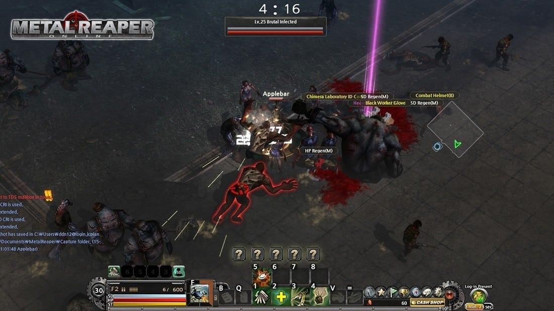 Metal Reaper Online screenshot 2