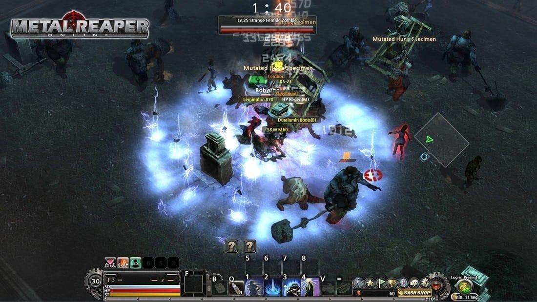 Metal Reaper Online screenshot 3