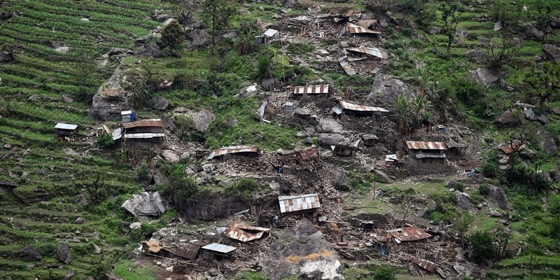 Nepal earthquake photo