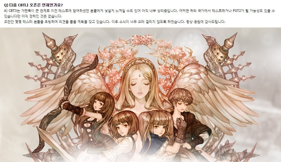 Tree of Savior - CBT 3 info