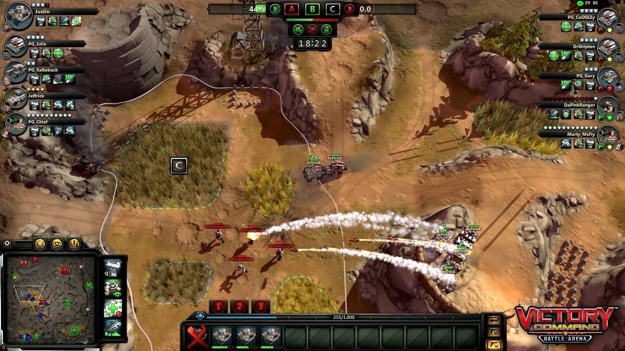 Victory Command screenshot 4