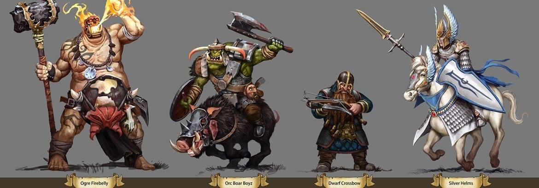Warhammer Storm of Magic artwork