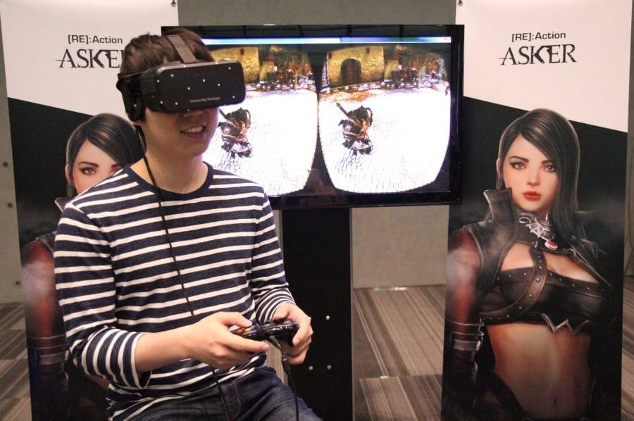 Asker - Virtual reality testing