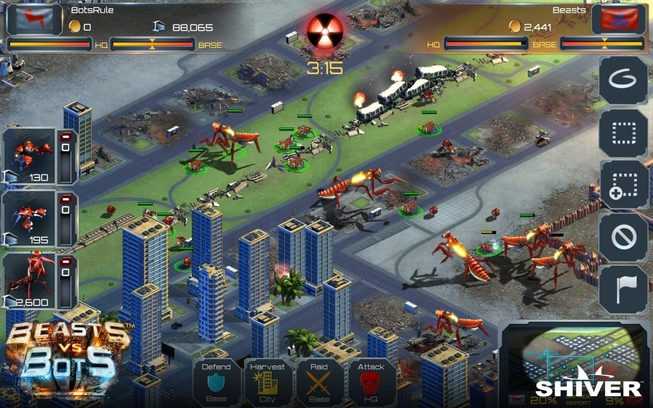 Beast vs Bots screenshot 1