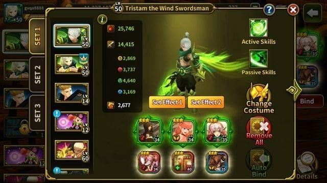 Elune Saga - Hero Soul set effect renewal 1