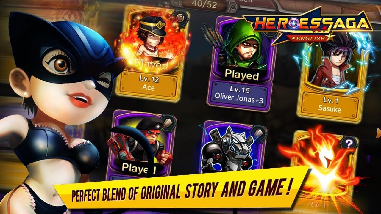 Heroes Saga image 2