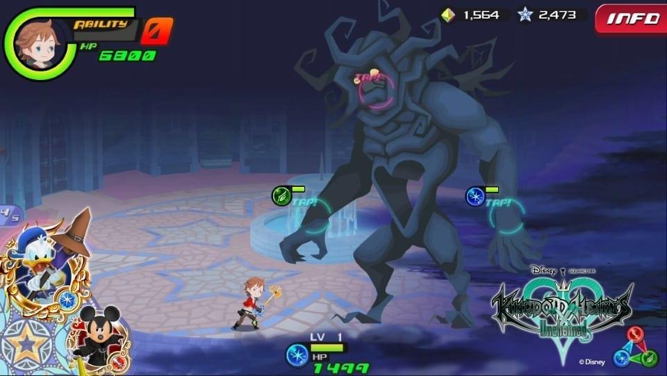 Kingdom Hearts Unchained χ screenshot 2