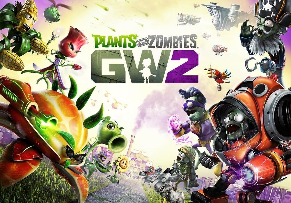 Plants vs. Zombies Garden Warfare 2 key art