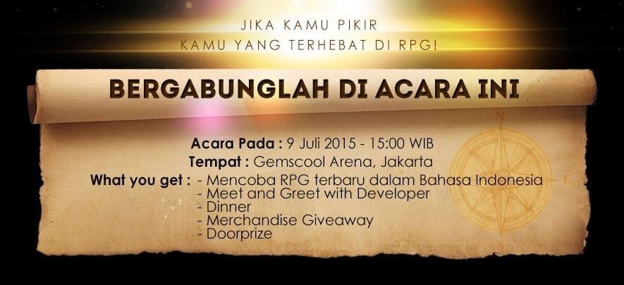 Tree of Savior Indonesia launch event