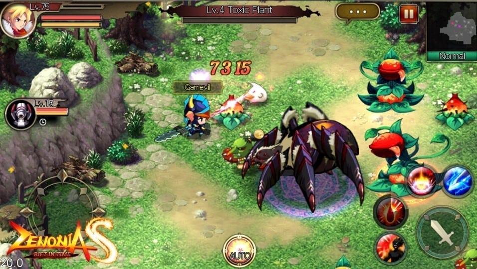 Zenonia S screenshot 2
