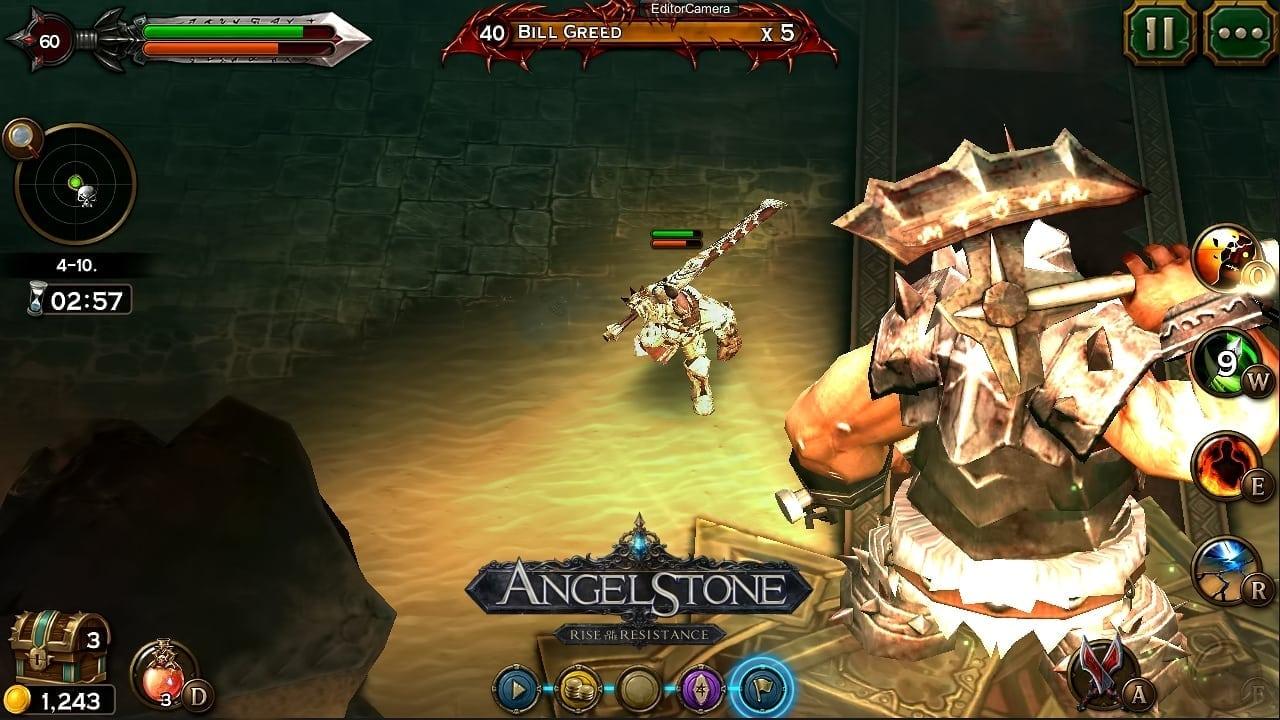 Angel Stone - Berserker screenshot