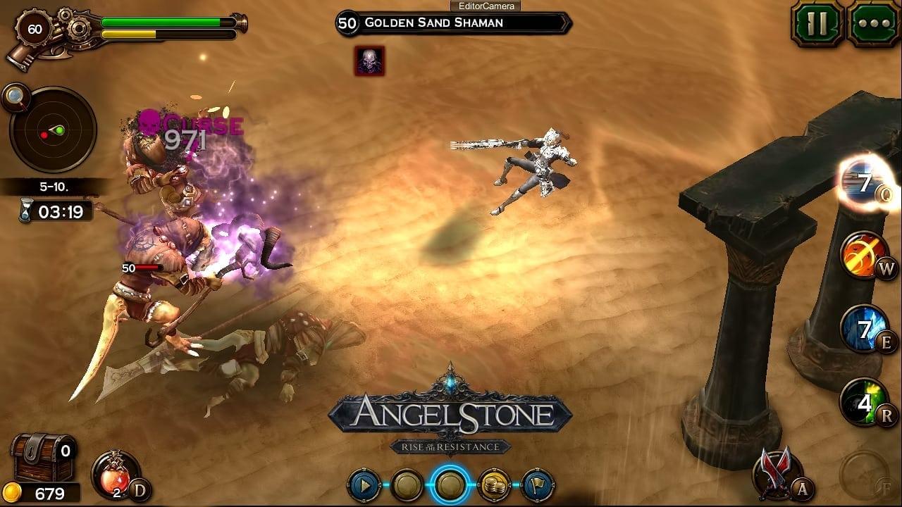 Angel Stone - Gunslinger screenshot