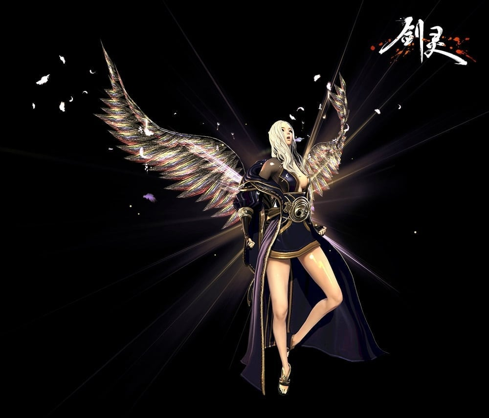 Blade & Soul China - Wing system concept art 1