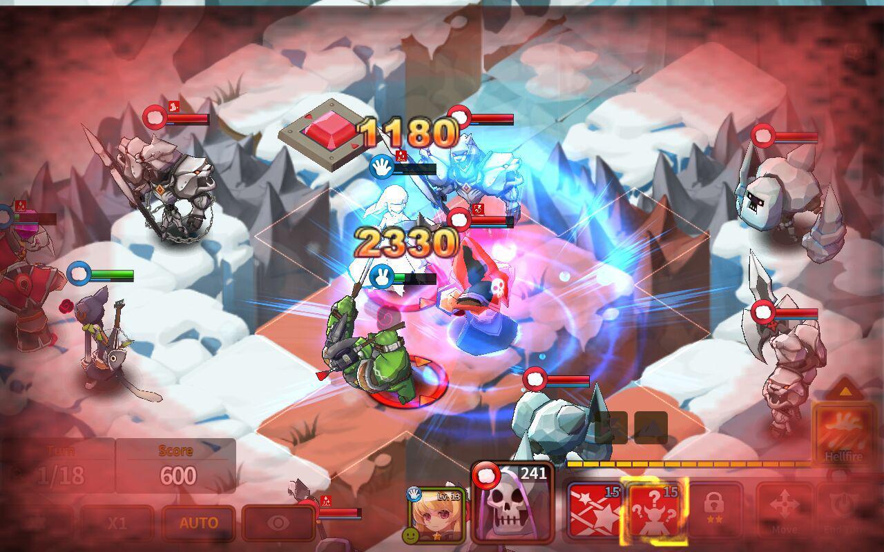 Fantasy War Tactics - Dungeon screenshot 2