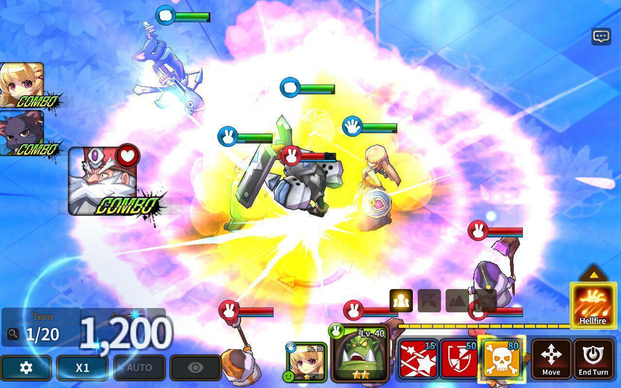 Fantasy War Tactics - Dungeon screenshot 3