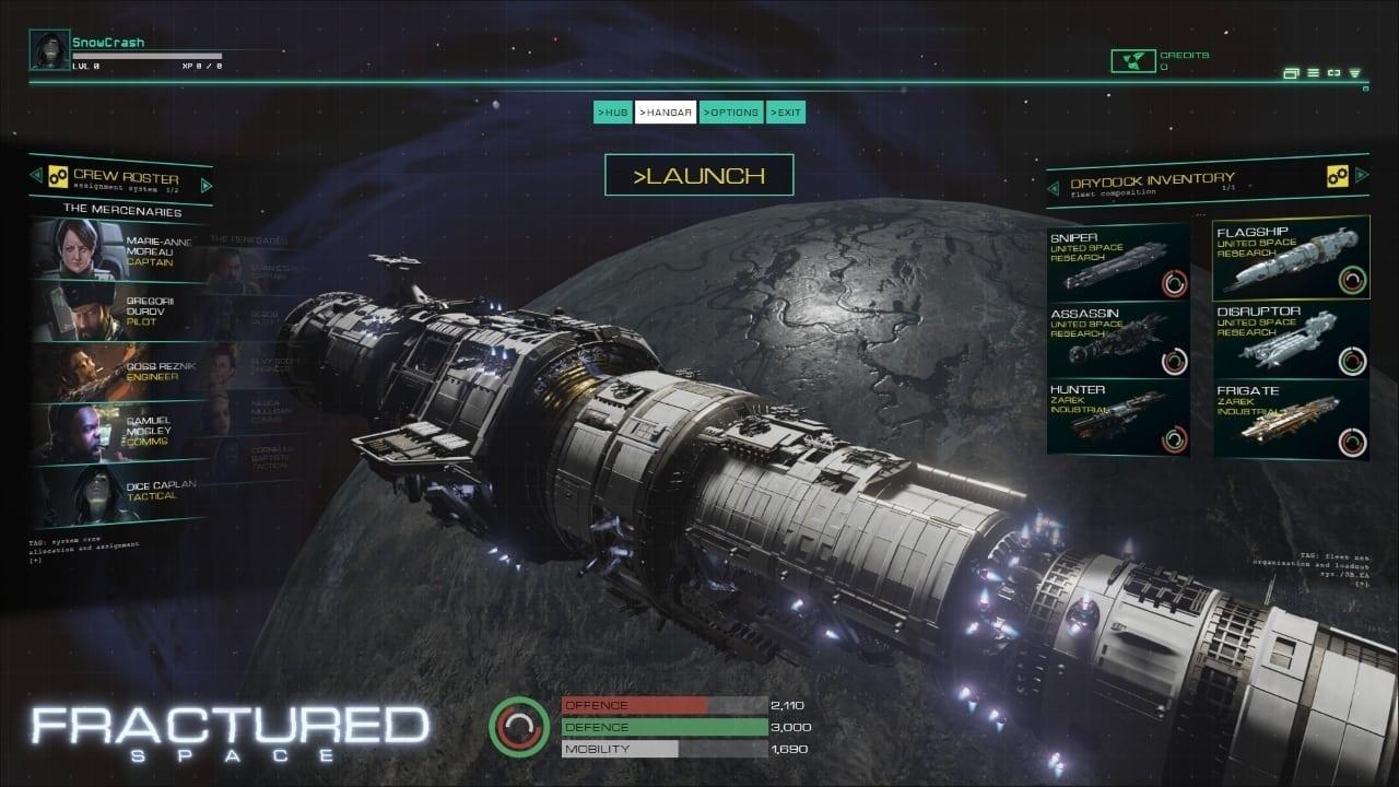 Fractured Space screenshot 1
