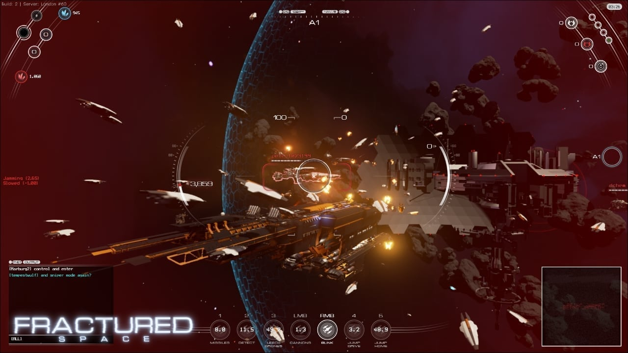 Fractured Space screenshot 2