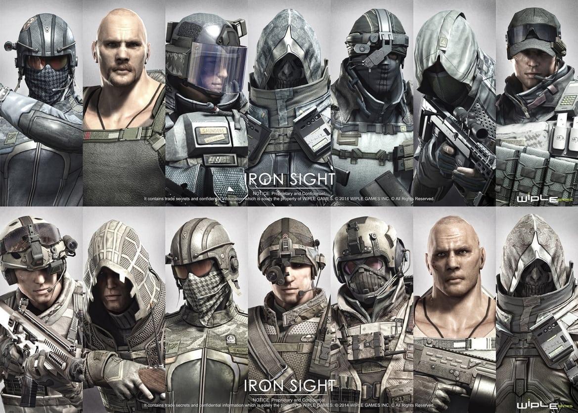 Iron Sight factions