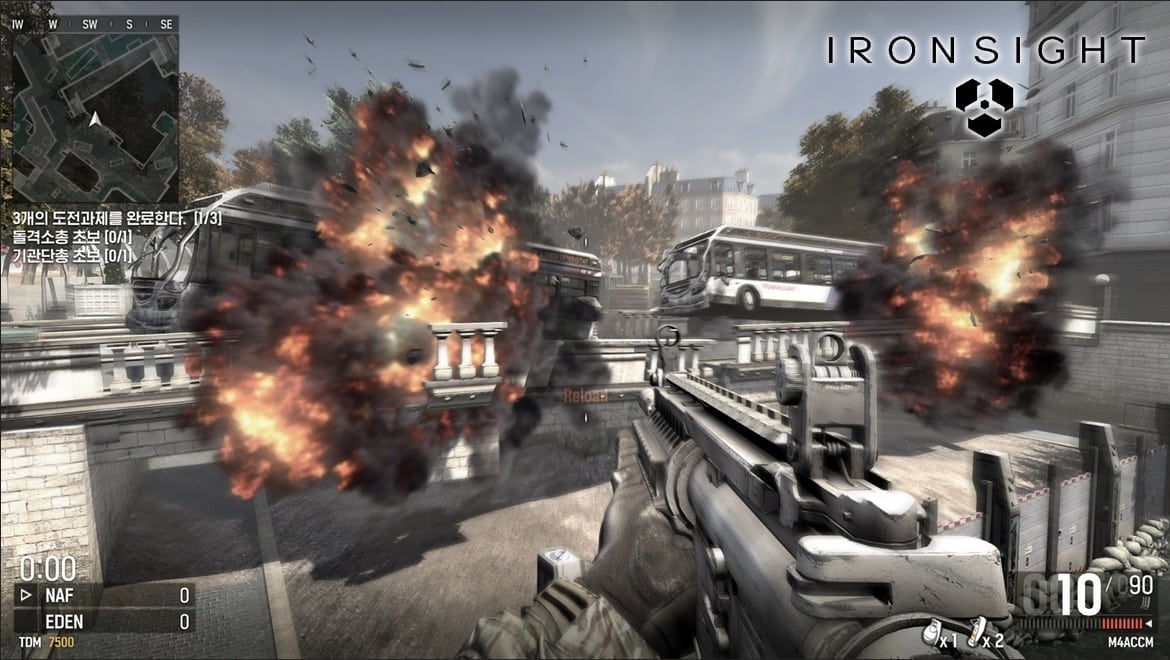 Iron Sight – New futuristic military online shooter