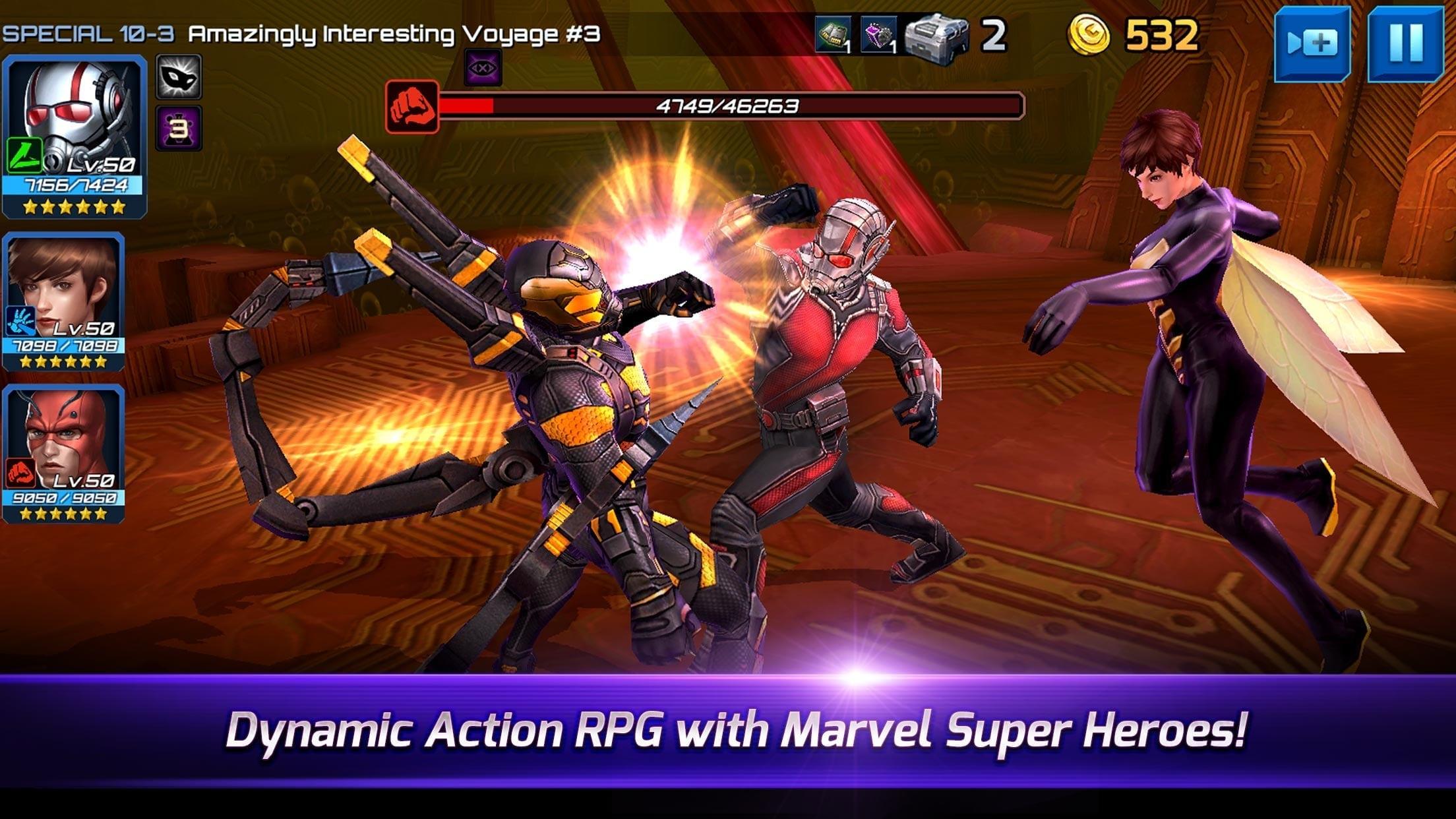 Marvel Future Fight - Ant-Man screenshot