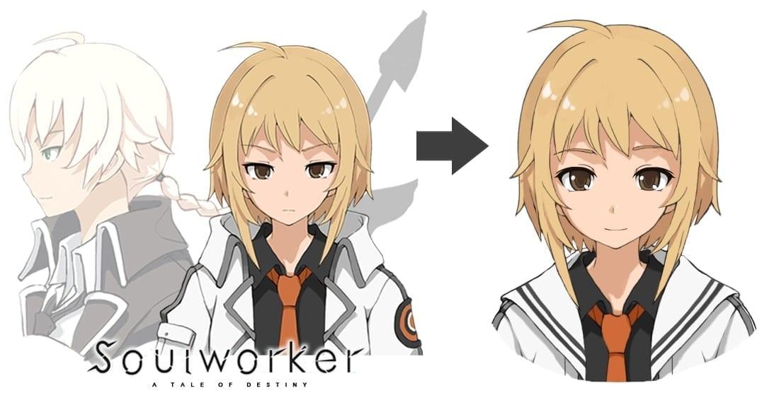 Soul Worker - Character art change