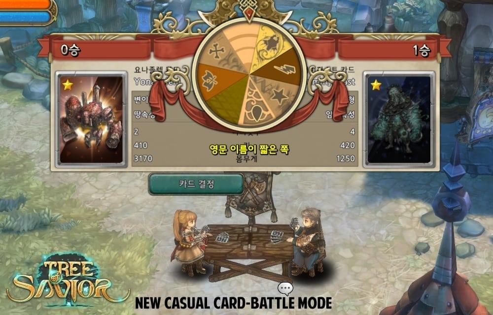 Tree of Savior - Casual card-battle mode
