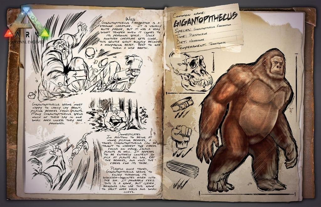 ARK Survival Evolved - Gigantopithecus image