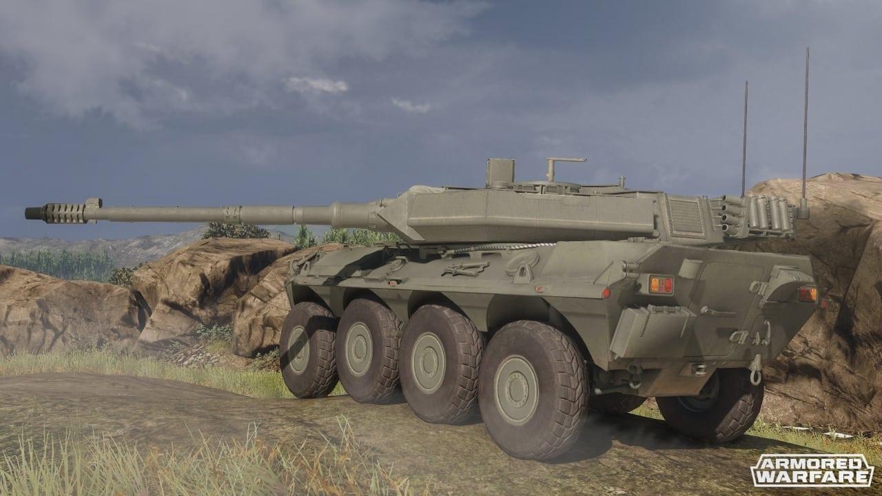 Armored Warfare - Centauro 120 screenshot 2