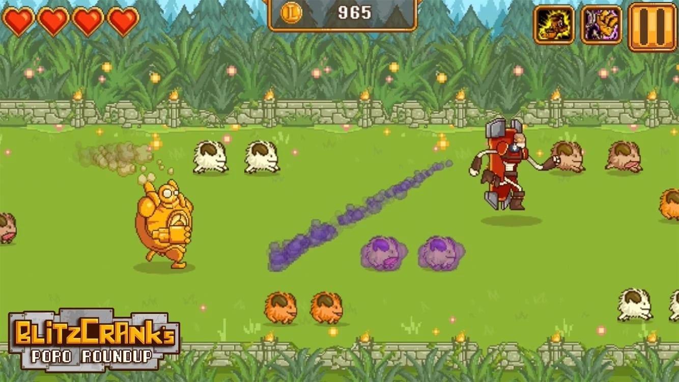 Blitzcrank's Poro Roundup screenshot 1