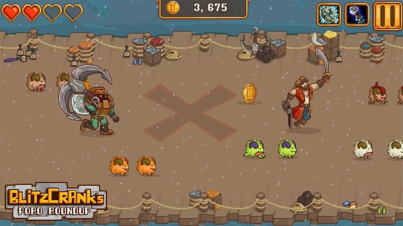 Blitzcrank's Poro Roundup screenshot 3