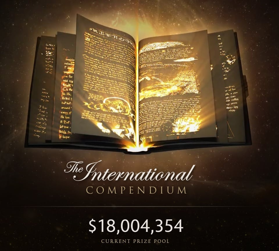Dota 2 The International prize pool