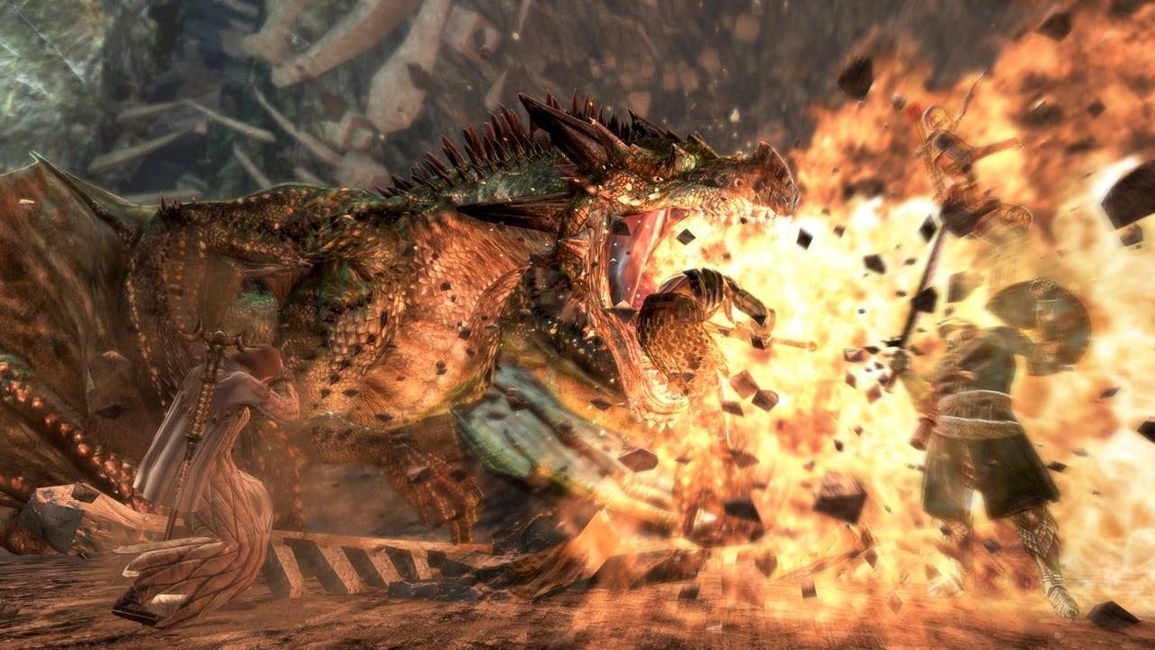 Dragon's Dogma Online - Elder Dragon screenshot 2
