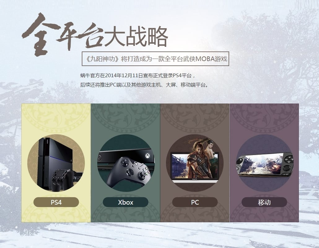 King of Wushu - Cross-platform gameplay