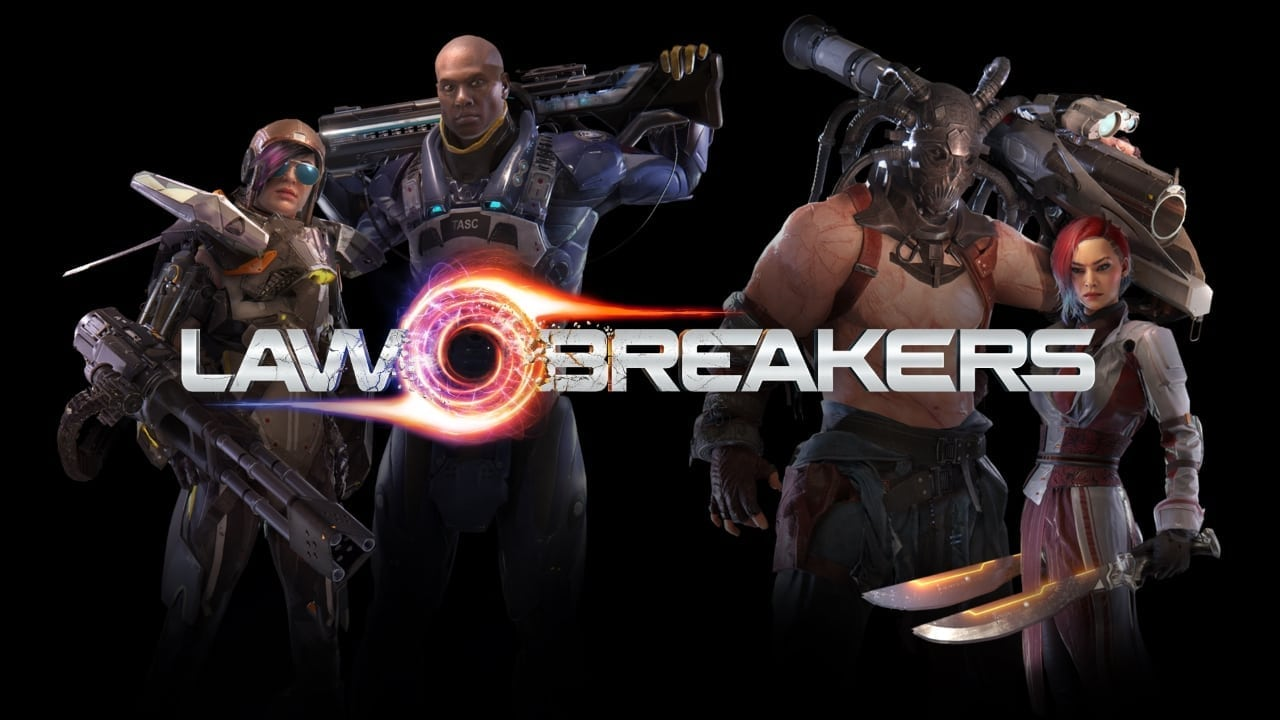 LawBreakers - First 4 characters