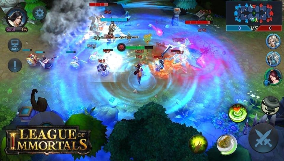 League of Immortals screenshot 1